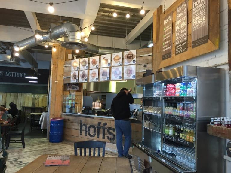 Hoffs Nottingham Natural Food fast - Or good fast food