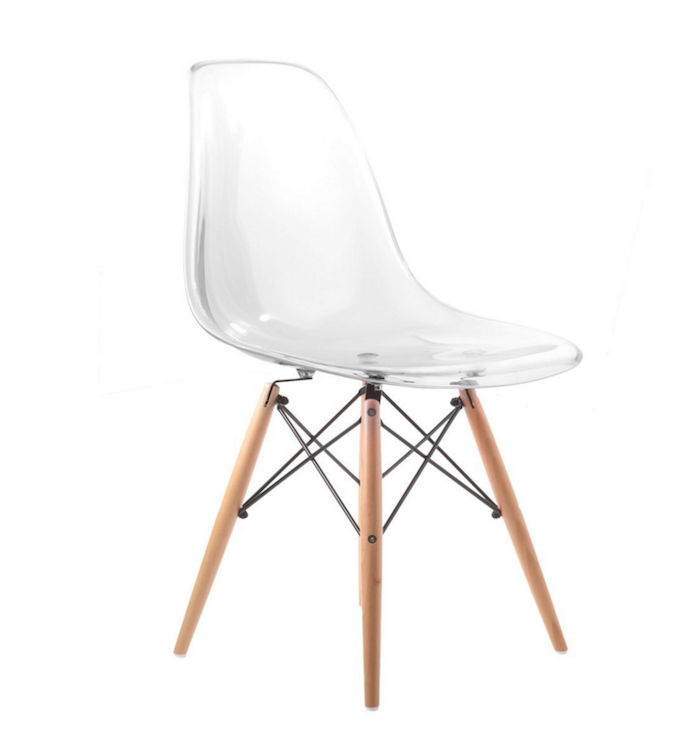 Eames DSW Chairs Front View Eames Chairs From Amazon 3:4 View