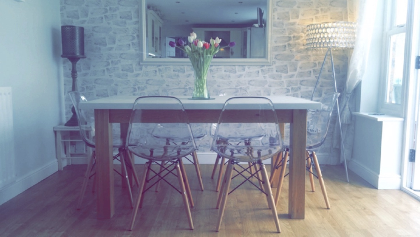 Eames Chairs From Amazon In Situ In Our Dining Room